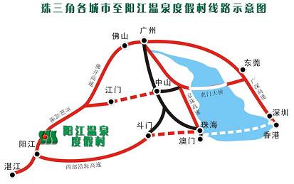 扼粤西要冲,与国家aaaa级的阳江海陵岛闸坡旅游区毗邻,并有阳湛高速